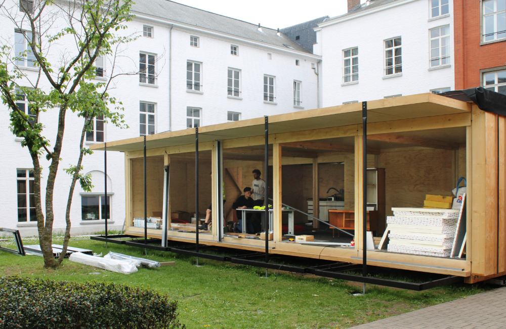 The Mobble, Solar Decathlon, UGent, Universiteit Gent